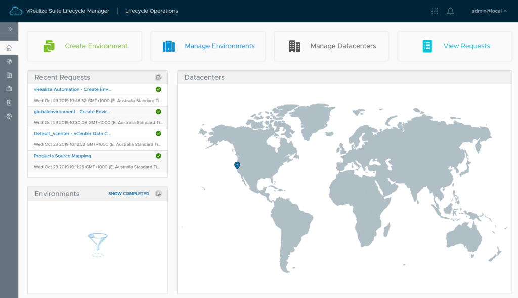 Lifecycle Manager Dashboard