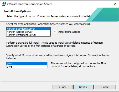 Horizon Instance Type