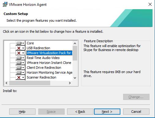Horizon Agent Features